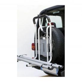 Suport bicicleta Peruzzo Stelvio 375/A 4X4 ALU cu prindere pe roata de rezerva pentru 2 biciclete