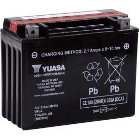 Baterie moto Yuasa AGM 12V 21Ah, 350A YTX24HL-BS (CP)