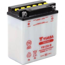 Baterie moto Yuasa YuMicron 12V 12Ah, 150A YB12A-B (DC)