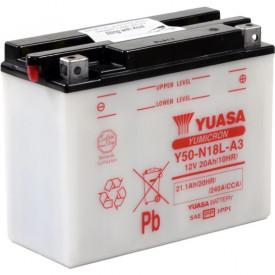 Baterie moto Yuasa YuMicron 12V 20Ah, 240A Y50-N18L-A3 (DC)