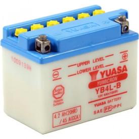 Baterie moto Yuasa YuMicron 12V 4Ah, 45A YB4L-B (CP) - Acid Inclus in Pachet