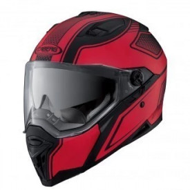 Casca moto Caberg Stunt Blade Matt Black / Red