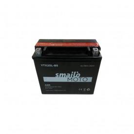 Baterie moto Smailo AGM Gel 12V 18Ah, 250A S-YTX20L-BS (YTX20L-BS)