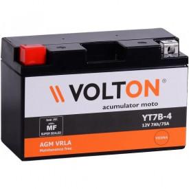 Baterie moto Volton FA 12V 7Ah, 75A (YT7B-4/YT7B-BS)