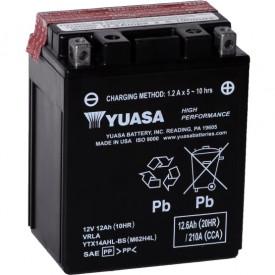 Baterie moto Yuasa AGM 12V 12Ah, 210A YTX14AHL-BS (CP)