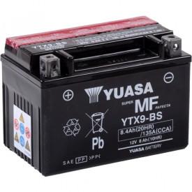 Baterie moto Yuasa AGM 12V 8Ah, 135A YTX9-BS (CP)