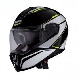 Casca moto Caberg Drift Tour Black / White / Yellow Fluo