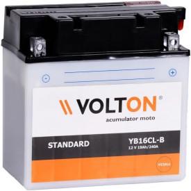 Baterie moto Volton 12V 19Ah, 240A (YB16CL-B)