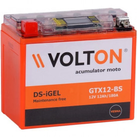 Baterie moto Volton DS-iGEL 12V 12Ah, 180A (GTX12-BS)
