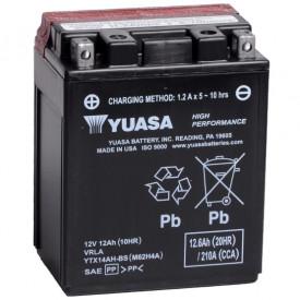 Baterie moto Yuasa AGM 12V 12Ah, 210A YTX14AH-BS (CP)