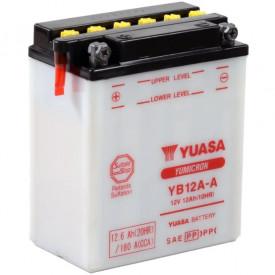 Baterie moto Yuasa YuMicron 12V 12Ah, 150A YB12A-A (DC)