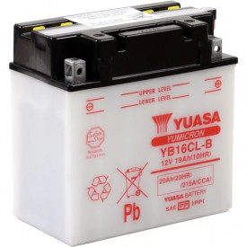 Baterie moto Yuasa YuMicron 12V 19Ah, 240A YB16CL-B (DC)
