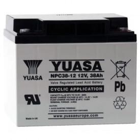 Baterie stationara Yuasa, 12V, 38 Ah, NPC38-12I