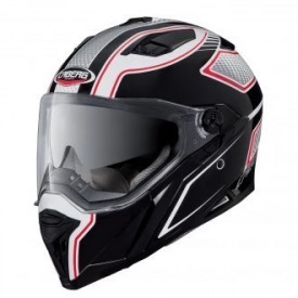 Casca moto Caberg Stunt Blade White / Black / Red