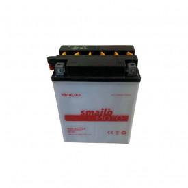 Baterie moto Smailo standard 12V 14Ah, 170A S-YB14L-A2 (YB14L-A2)