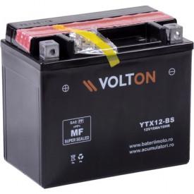 Baterie moto Volton AGM 12V 10Ah, 180A (YTX12-BS)