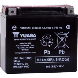 Baterie moto Yuasa AGM 12V 18Ah, 310A YTX20HL-BS (CP)