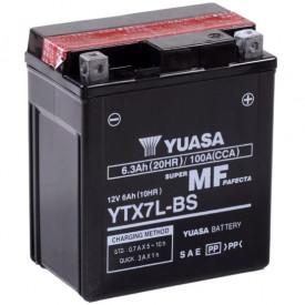 Baterie moto Yuasa AGM 12V 6Ah, 100A YTX7L-BS (CP)