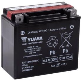 Baterie moto Yuasa AGM 12V 18Ah, 310A YTX20H-BS (CP)