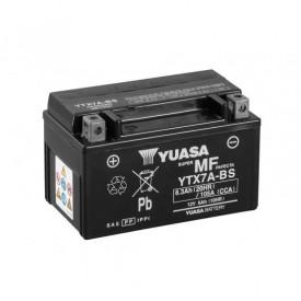 Baterie moto Yuasa AGM 12V 6Ah, 105A YTX7A-BS (CP)