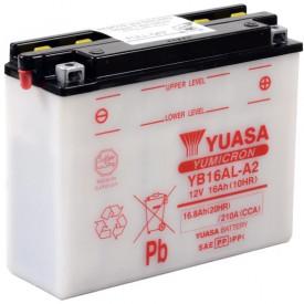 Baterie moto Yuasa YuMicron 12V 16Ah, 210A YB16AL-A2 (DC)