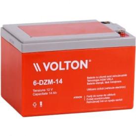 Baterie stationara Volton, 12V, 14.0Ah, 6-DZM-14