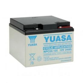 Baterie stationara Yuasa, 12V, 24 Ah, NPC24-12I