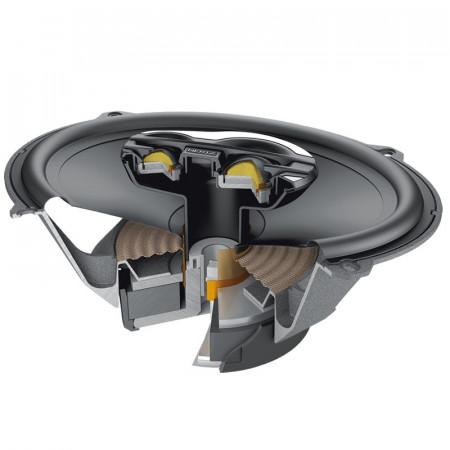 Coppia Coassiali 3 Vie Hi-Fi Car Hertz MILLE PRO MPX 690.3