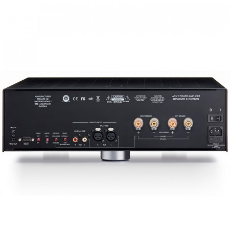 Amplificatore Finale di Potenza Stereo Hi-Fi Primare A35.2