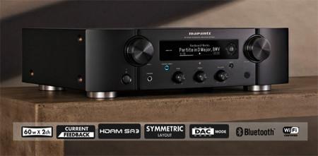 Amplificatore Integrato Stereo con Streamer Hi-Fi Marantz PM7000N