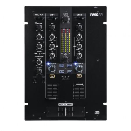 DJ Mixer Digitale Professionale 2+1 Canali Reloop RMX-22i