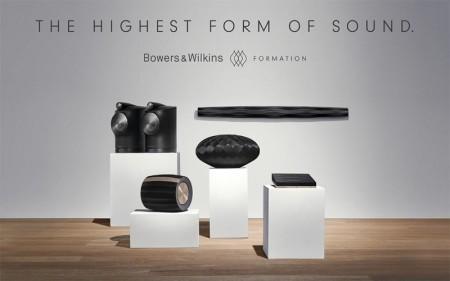 Soundbar attiva Home Theatre Formation Bar per Sistema Multiroom Wireless B&W Serie Formation