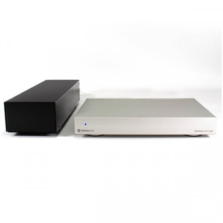 Preamplificatore Phono MM/MC con Alimentatore PWX II Hi-Fi Lehmann Audio Silver Cube