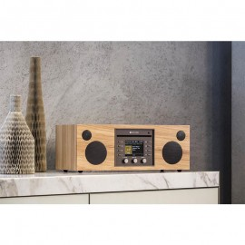 Sistema Completo Stereo Hi-Fi CD - DAB+ - FM - Bluetooth Wireless Como Audio MUSICA immagini