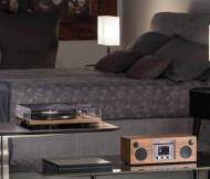 Giradischi Bluetooth Trazione a Cinghia Hi-Fi Como Audio Turntable BT