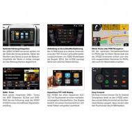 Autoradio Touch-Screen doppio Din con Navigatore per veicolo commerciali Fiat, Citroen e Peugeot Zenec XF220