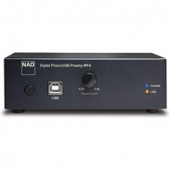 Preamplificatore Phono MM/MC con porta USB Hi-Fi NAD PP4