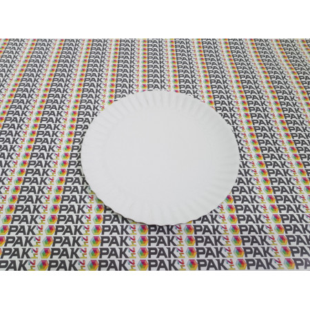 Farfurie carton rigid 24 cm