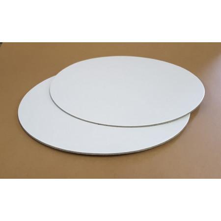 Disc carton 30 cm alb