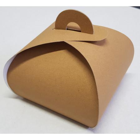 cutie carton natur prajituri 9x9x9 cm