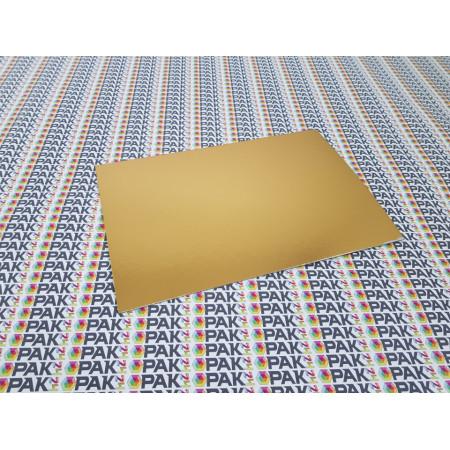 platou carton auriu 20x30 cm
