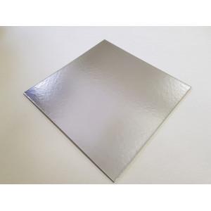 Platou carton auriu/argintiu 34x34 cm