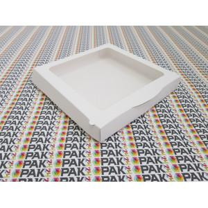 Cutie cu display pentru prajituri 20x20x3 cm
