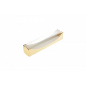 cutie carton auriu macarons 7x5x5 cm