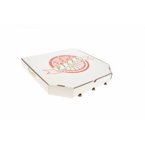 Cutie pizza 42x42x4 cm(personalizare gratuita cu una sau doua culori)