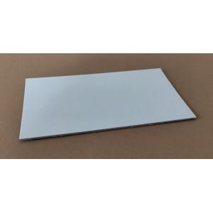 Platou carton alb lucios 34x44 cm