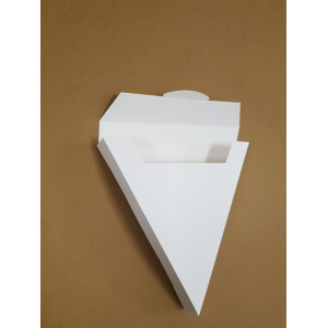 Cutie cu capac pentru clatite 20x20x3 cm