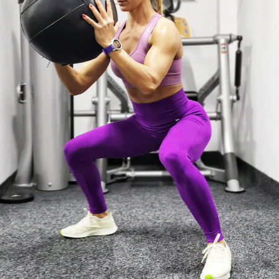Colanti Fitness, Classic, Purple