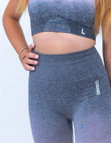 Compleu fitness , Bustiera+ Colanti, Energy Pink-Grey