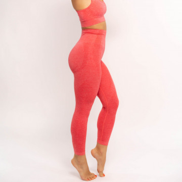 Set fitness Viva Orange, Colanti + Bustiera